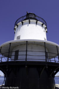 Spring Point Ledge Lighthouse, up close. Couldn't get up on it, to look around, but the views from the point were amazing.